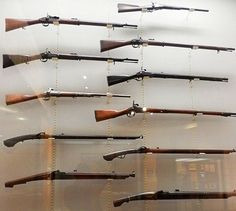 Various firearms used by samurai during the Edo period.