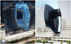 Prdio futurista de Zahar Hadid - interior e exterior (Foto: Divulgao / Zaha Hadid)
