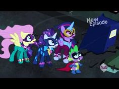 First encounter with the Mane-iac - Power Ponies full scene - YouTube