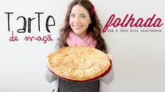 Tarte de Maçã Folhada Apple Pie, Cooking Recipes, Breakfast, Sweet, Desserts, Food, 1, Youtube, Yummy Recipes