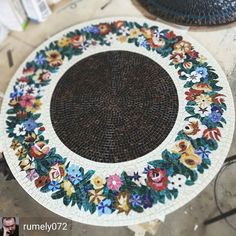 @Regranned from @rumely072 -  #mosaic  #mosaicart #mosaictile - Today's beauty! #mindenmozaik #everythingismosaic #mozaik
