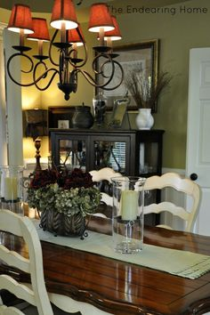 stain color for kitchen table