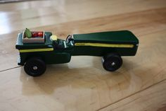 John Deere Pinewood Derby Car