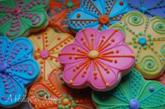 These #cookies just may be too pretty to eat!