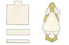 Выкройки одежды для зайцев тильда