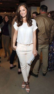 Another fav, Minka Kelly and her style