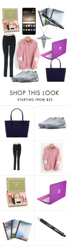 """""""mood for BCPS"""" by aprillouise-purisima ❤ liked on Polyvore featuring Dagne Dover, NIKE, Uniqlo, WithChic, Benefit and Allurez"""