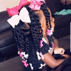 Jumbo Box Braids Tutorial East Diy To Save Your Money. - Jumbo Box Braids Tutorial East Diy To Save Your Money. Natural hair twist on kids with natural hair as a protective style Cute Little Girl Hairstyles, Little Girl Braids, Girls Natural Hairstyles, Natural Hairstyles For Kids, Kids Braided Hairstyles, Braids For Kids, Layered Hairstyles, Kids Natural Hair, Black Toddler Hairstyles