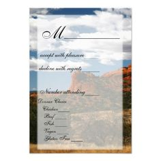 Out West RSVP Card Personalized Invite