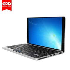 "(DHL Free Shipping) GPD Pocket 7"" Aluminum Shell Mini Laptop For Windows 10 System CPU x7-Z8750 8GB/128GB Type C 7000mAh Battery"