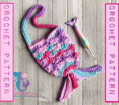 Marvelous Crochet A Shell Stitch Purse Bag Ideas. Wonderful Crochet A Shell Stitch Purse Bag Ideas. Crochet Mermaid Tail, Baby Girl Crochet, Crochet For Kids, Crochet Handbags, Crochet Purses, Crochet Pouch, Afghan Crochet, Crochet Squares, Mermaid Purse