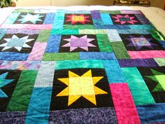 Lucky Stars Terry Atkinson. I have the fabric for this quilt in ... : lucky star quilt pattern - Adamdwight.com