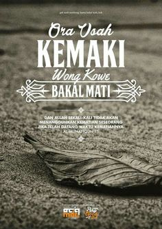 15 Desain Poster Dakwah Karya MDC (Muslim Designer Community) Part 3 Quotes Rindu, Quotes Lucu, Photo Quotes, Daily Quotes, Life Quotes, Islamic Inspirational Quotes, Islamic Quotes, Qoutes About Love, Learn Islam