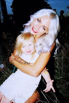 Lou Teasdale and Luxy