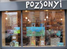 Mesekavics Exhibition at Pozsonyi Pagony, best book shop for kids in Budapest.