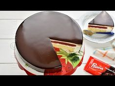 Tort cu glazura oglinda, un desert spectaculos si delicios dar ca nu e greu de facut, doar ca dureaza ceva mai mult. Ca sa va fac pofta, va povestesc putin My Birthday Cake, Cakes And More, Chocolate Fondue, Mousse, Pudding, Sweets, Diet, Ethnic Recipes, Desserts