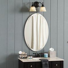 Frameless Beveled Mirror | Ballard Designs
