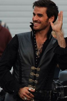 Colin O'Donoghue - 12 August 2014....he has two hands....