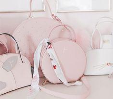 Circle handbags, pink handbags, spring handbags, trendy handbags, cute handbags, feminine handbags, girly handbags