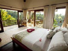 Ubud Cliff Villas Bali - Guest Room  ini mahal tp viewnya doonggg hiks Ubud Hotels, Resort Villa, Outdoor Furniture, Outdoor Decor, Cliff, Villas, Guest Room, Wanderlust, Bed