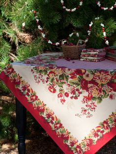 Marion Tablecloth | Table Linens U0026 Kitchen, Tablecloths :Beautiful Designs  By April Cornell