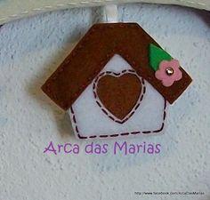 Casa de passarinhos (detalhe de guirlanda)