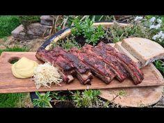 #209 vepřová žebra po česku - YouTube Steak, Grilling, Pork, Beef, Youtube, Kale Stir Fry, Meat, Crickets, Steaks