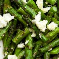 Grilled Asparagus & Feta Salad