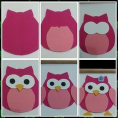 Ideas for baby shower centros de mesa buho Felt Crafts Diy, Owl Crafts, Crafts For Kids, Paper Crafts, Owl Shower, Baby Shower, Shower Ideas, Owl Sewing Patterns, Owl Birthday Parties