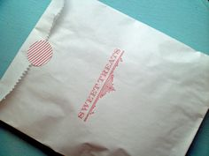 Old Fashioned Sweet Treats Bakery / Cookie Bags  10 by ideachic