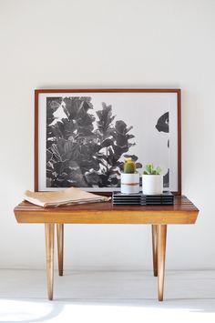 Fine Life Co / Fiddle Leaf Print