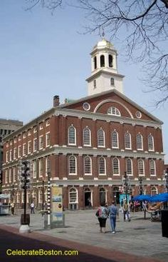 Faneul Hall. been closed the past two times I've been to Boston and I can't wait to see the inside of it!
