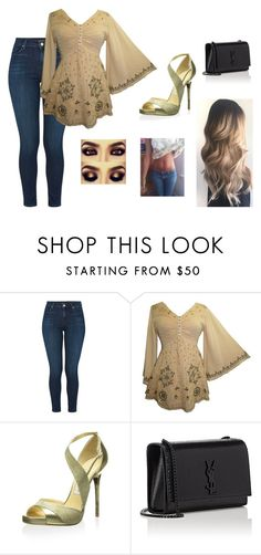 """""""Untitled #78"""" by autumn-geist on Polyvore featuring J Brand, Jimmy Choo and Yves Saint Laurent"""