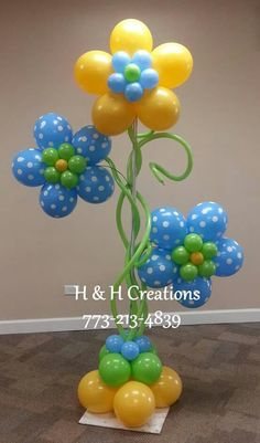 Balloon Flowers, Balloon Decorations, Balloons, Haircuts, Party, Globes, Balloon, Balloon Centerpieces, Hot Air Balloons