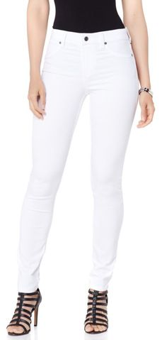 There's always a time and a place to wear jeans! From weekends to weekdays and sun-up to sun-down, these stretch denim skinnies are a fashion staple you simply have to have! With an easy, pull-on silhouette and curve-hugging fit, these are the pair you'll turn to day after day and season after season!