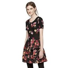 Thakoon for DesigNation Floral Ruffled Drop-Waist Dress - Women's