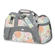 678e2aa5c554 High Sierra Switch Blade Duffel Bag with mesh shoe compartment on end