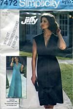 I have this one! Simplicity 7472