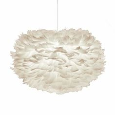 Suspension Design EOS Dimensions Medium - Suspension plume Eos Notre nouvelle lampe à suspendre design Eos est un véritable objet d'art. Fabriquée avec de vraies plumes d'oie… Voir la présentation