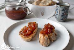 Mermelada casera de tomate http://www.recetasderechupete.com/mermelada-casera-de-tomate/11542/ #receta #derechupete
