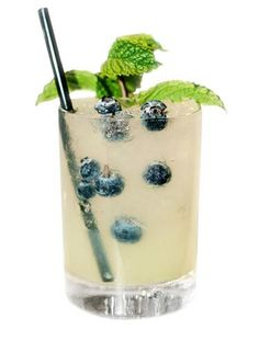 Summer Cocktail: Basil Hayden's Red, White and Blueberry Julep - The Bourbon Review