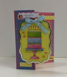 Anita's foiled decoupage card | docrafts.com