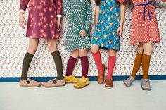 Paryski szyk, Wes Anderson i Malulo   ladnebebe.pl YES! this is a kids photo shoot but THE SHOES! THE DRESSES!