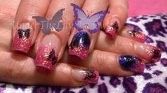 ☆★ Acrylic nails - Mystical Wings ★☆