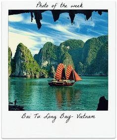 Take a trip to beautiful Bai Tu Long Bay #photooftheweek