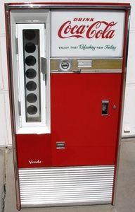 Coca Cola Vendo 63  Bottle-Serving Machine