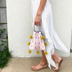 Our purses, jewelry, pillows, table linens, and more are handmade by resettled refugees in Dallas. Diy Craft Projects, Diy And Crafts, Drawstring Bag Diy, Potli Bags, Boho Bags, Simple Bags, Girls Bags, Little Bag, Fall Diy
