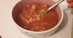 Hétköznap esti minestrone | Nosalty Chili, Soup, Chile, Soups, Chilis