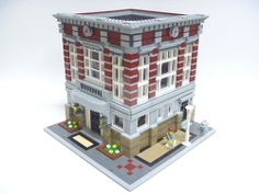 Lego 10197 Fire Station Alternative Model Bank Building Instructions | eBay