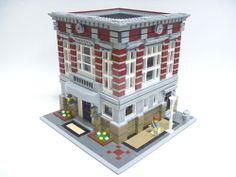 Lego 10197 Fire Station Alternative Model Bank Building Instructions   eBay